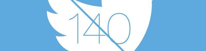 Twitter: stop al limite di 140 caratteri nei messaggi diretti