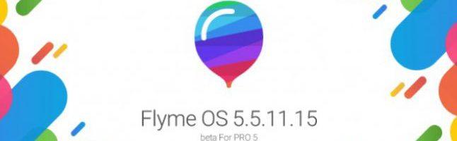 Flyme 5.5.11.15 in versione Beta disponibile per il Meizu Pro 5 – (Download)