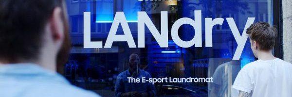 Samsung LANdry: fare il bucato è una noia? Samsung cerca di renderlo meno noioso con una LAN per videogiochi in lavanderia