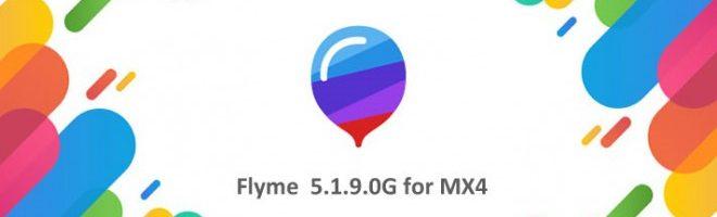 Flyme 5.1.9.0G ora è disponibile anche per il Meizu MX4