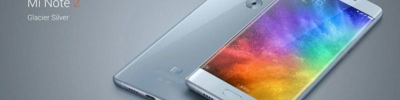 Xiaomi Mi Note 2 è disponibile in prevendita su Gearbest