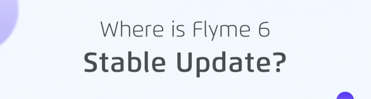 La Flyme 6 G stabile arriverà a luglio (per ora)