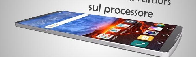 LG G7: primi rumors sul processore