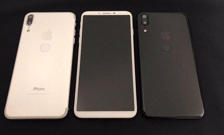 iPhone 8 e TouchID sul retro