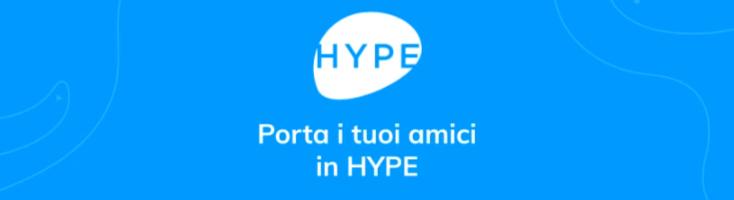 HYPE regala buoni Amazon da 50 e 250 euro e 10 euro di bonus ai nuovi HYPEr
