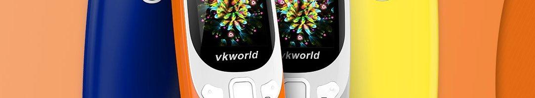 Vkworld Z3310: il clone del nuovo Nokia 3310 che costa meno di 18 euro
