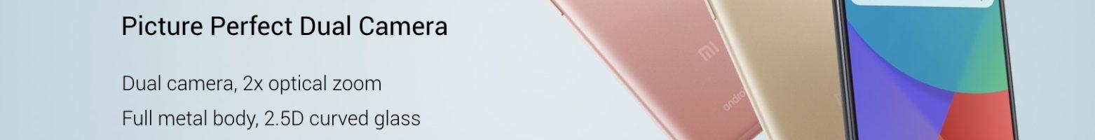 Xiaomi Mi A1 ufficiale: il primo smartphone Xiaomi con Android One