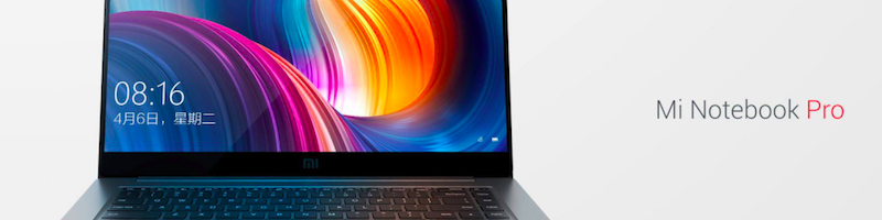 Xiaomi Mi Notebook Pro da 15.6″ presentato ufficialmente