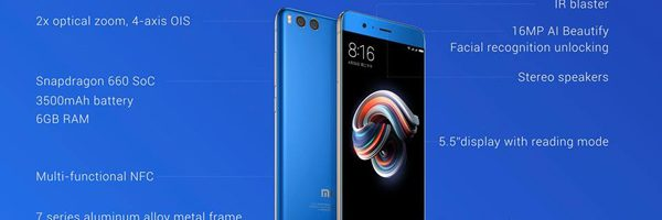 Xiaomi Mi Note 3 ufficiale: uno zoom del Mi6, ma di fascia media