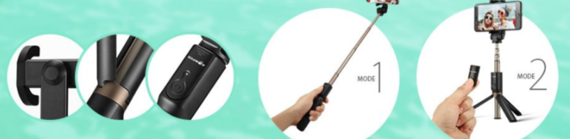 Recensione Blitzwolf BW-BS3: selfie stick e treppiede in un solo prodotto