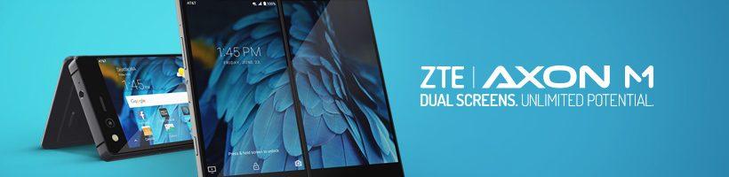 """ZTE Axon M ufficiale: il primo smartphone """"pieghevole"""" con due display"""