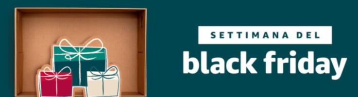 Black Friday 2017: ecco le offerte del lunedì disponibili su Amazon