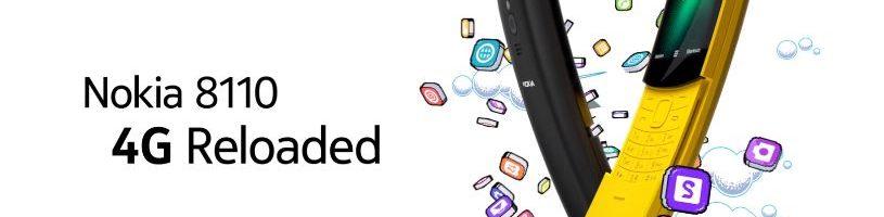 """Nokia 8110: il ritorno del """"banana phone"""" con qualche funzione interessante"""