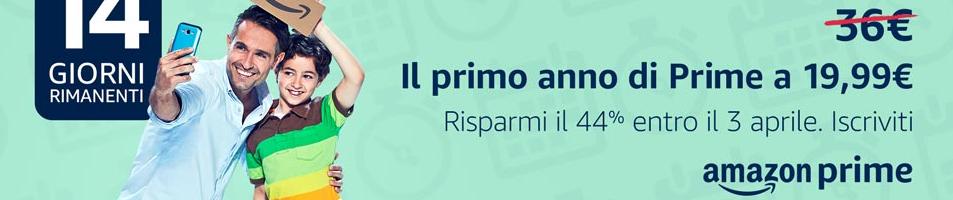 Dal 4 aprile Amazon Prime costerà 36 euro. Attivalo subito per pagare di meno!