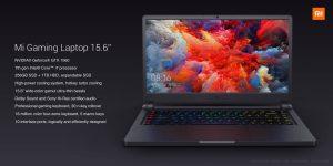 Xiaomi Mi Gaming Laptop ufficiale: potenza per il gaming ad un prezzo contenuto