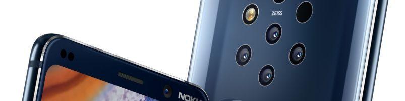 Nokia 9 PureView ufficiale: lo smartphone con 5 fotocamere posteriori