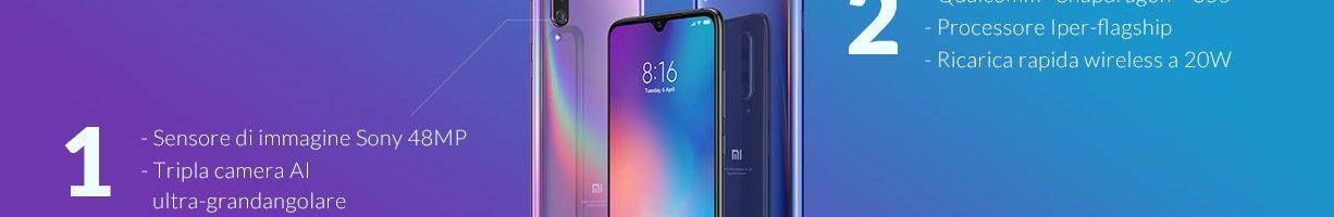 Xiaomi Mi 9 può già essere acquistato su Amazon ad un prezzo eccezionale!