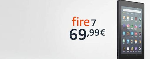 Amazon Fire 7 2019 ufficiale: la memoria raddopia e c'è il supporto nativo ad Alexa