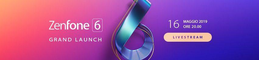 Asus ZenFone 6: ecco dove seguire la presentazione in live streaming