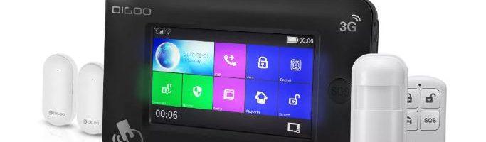 Digoo DG-Hama 3G: recensione del sistema di sicurezza smart e low-cost