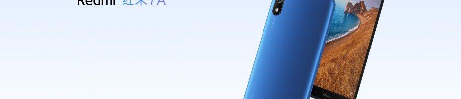 Redmi 7A ufficiale: il re degli smartphone low-cost