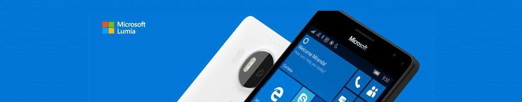 Windows 10 on ARM installato su un Lumia 950 XL