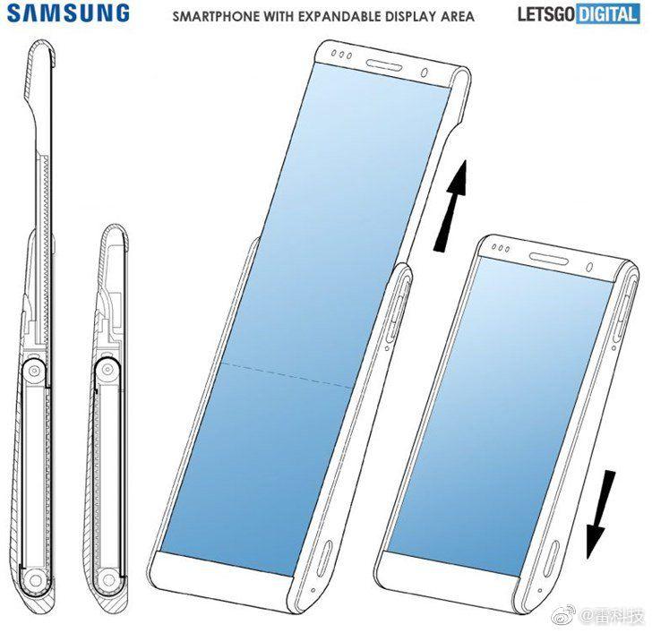 Galaxy Roll Samsung in futuro potrebbe lanciare sul mercato uno smartphone con display arrotolabile Darth News Side
