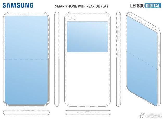 Samsung in futuro potrebbe realizzare uno smartphone con un secondo display posteriore