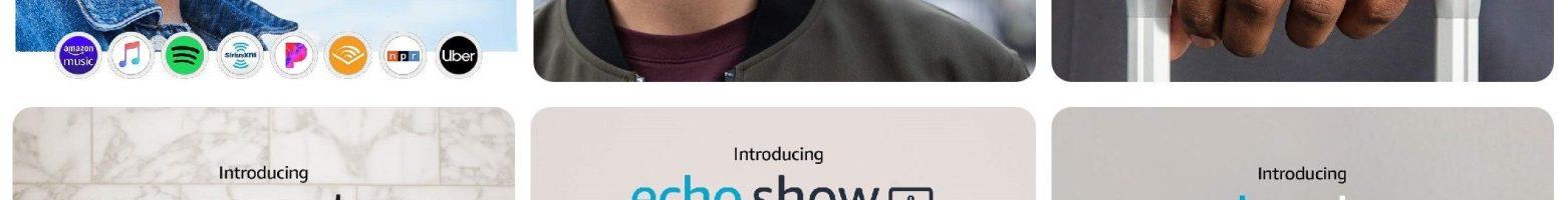 Echo Show 8, Echo Buds, Echo Frames e non solo: speaker, occhiali e auricolari con Alexa presentati da Amazon