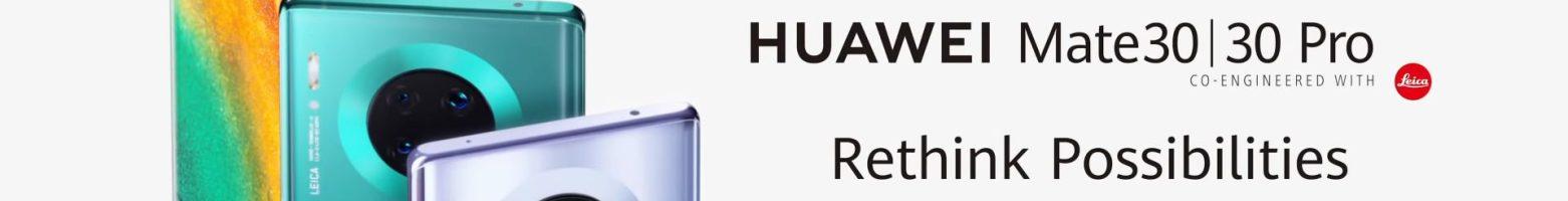 Huawei Mate 30 Pro e Mate 30 ufficiali: fotocamere e prestazioni al top, ma niente servizi Google