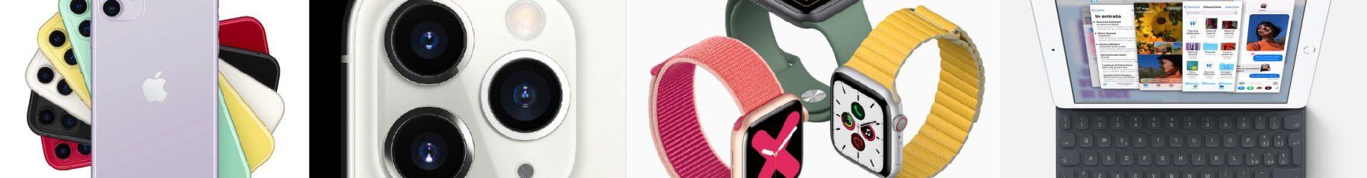 iPhone 11, Apple Watch Series 5 ed iPad 7 da 10.2″ presentati ufficialmente