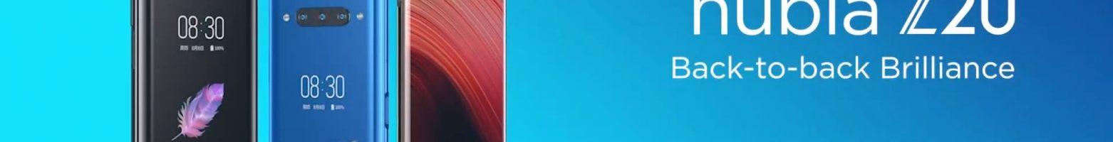 """Nubia Z20 ufficiale in Italia: """"solo"""" tre fotocamere, ma due display e tanta potenza"""