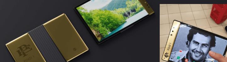 Escobar Fold 1: lo smartphone pieghevole del fratello dell'ex re della droga venduto ad un prezzo assurdo