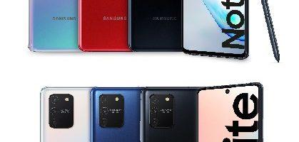 Samsung Galaxy Note 10 Lite e Galaxy S10 Lite ufficiali: disponibilità e prezzo