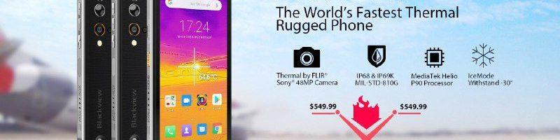 Blackview BV9900 Pro: smartphone rugged potente, con fotocamera da 48 MP, termocamera FLIR e non solo