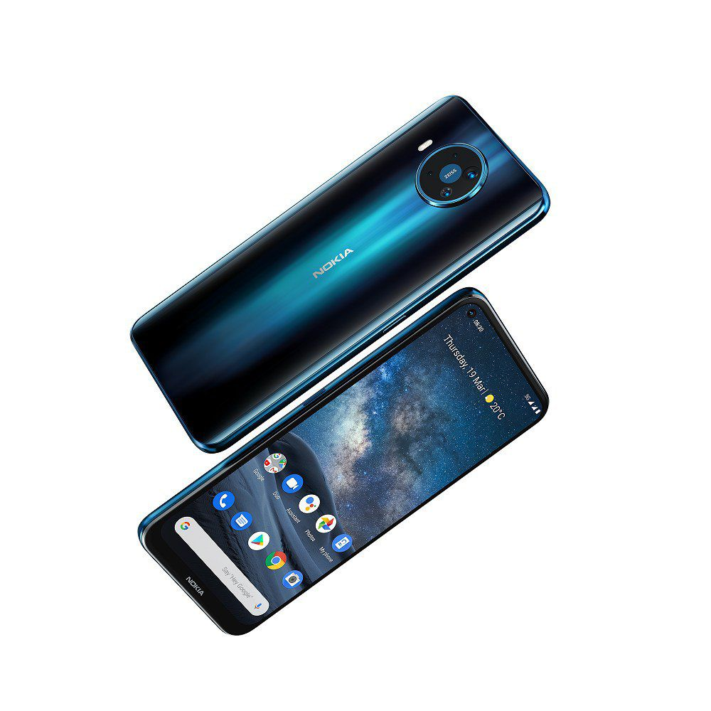 Nokia 8.3 5G Darth News Side