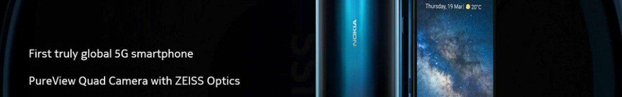 Nokia 8.3 5G ufficiale: il primo smartphone 5G di Nokia