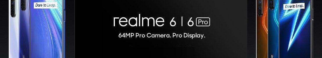 Realme 6 Pro e Realme 6 ufficiali: smartphone top nella fascia media