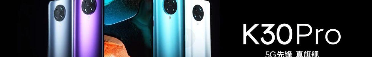 Redmi K30 Pro e K30 Pro Zoom Edition ufficiali: fotocamera pop-up, Snapdragon 865 e prezzo da urlo