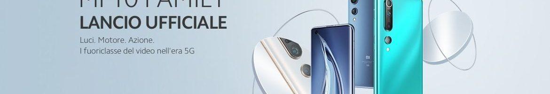 Xiaomi Mi 10 e Mi 10 Pro arrivano in Italia: prezzo e disponibilità