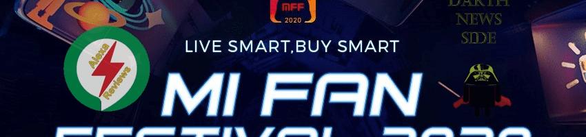 Mi Fan Festival 2020: tanti prodotti Xiaomi con sconti fino al 50% (ed anche prodotti a 1 centesimo)