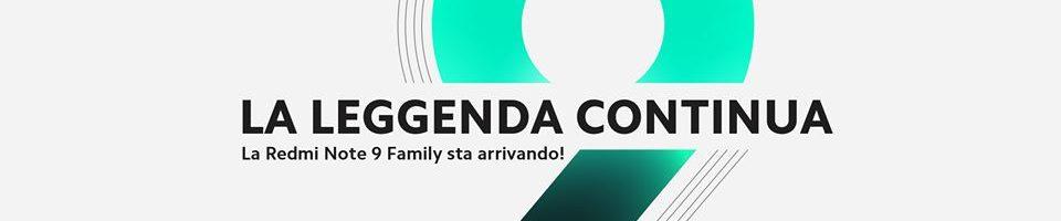 Redmi Note 9 Family: ecco dove seguire la presentazione in live streaming