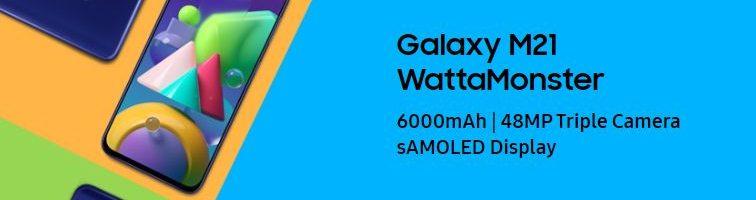 Samsung Galaxy M21 ufficiale in Italia: un battery phone interessante