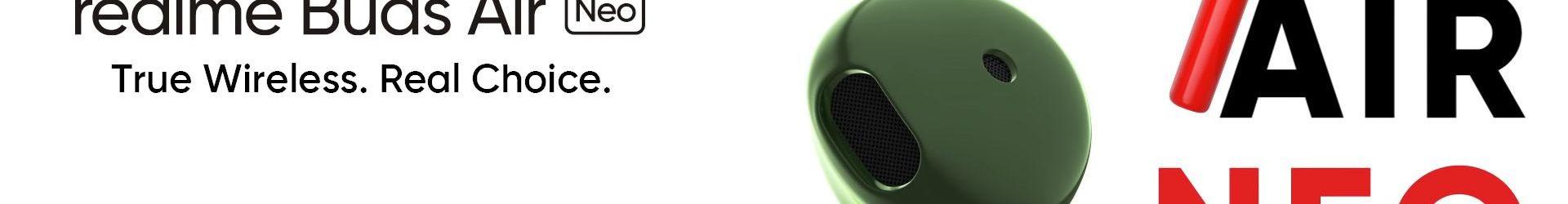 Realme Buds Air Neo ufficiali: auricolari Bluetooth in stile AirPods