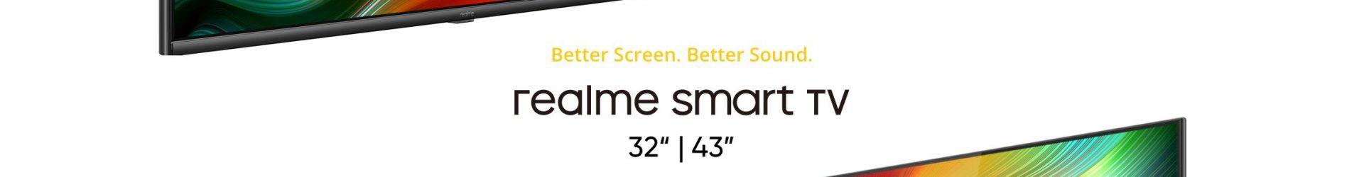 Realme Smart TV ufficiale: due vere rivali per le Xiaomi Mi TV