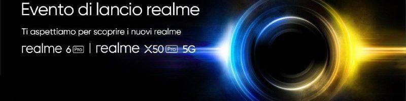 Realme X50 Pro 5G e Realme 6 Pro: segui l'evento di presentazione in diretta streaming