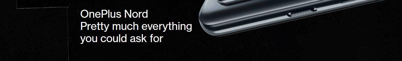 OnePlus Nord ufficiale: il primo ed interessante OnePlus di fascia media