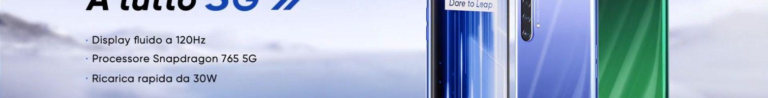 Realme X50 5G ufficiale in Italia: Snapdragon 765G, 5G e display 120Hz