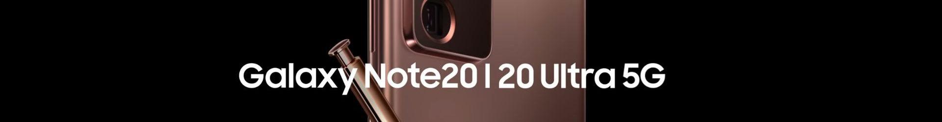 Samsung Galaxy Note20 e Galaxy Note20 Ultra 5G ufficiali: un mix di potenza e bellezza