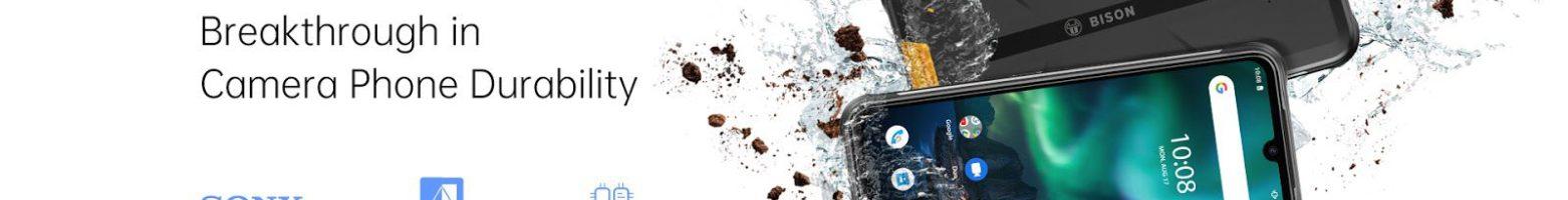 UMIDIGI BISON ufficiale: il rugged phone con design da gaming